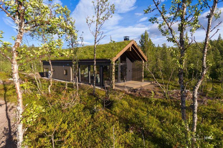 """FINN – """"Hytta på brinken"""" - Nyoppført, arkitekttegnet hytte levert av Sjemmedalhytta AS"""