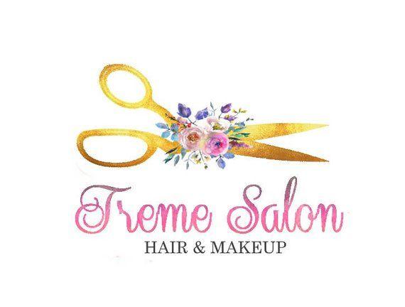 Scissors Logo Salon Logo Craft Logo Hair Logo Beauty Salon