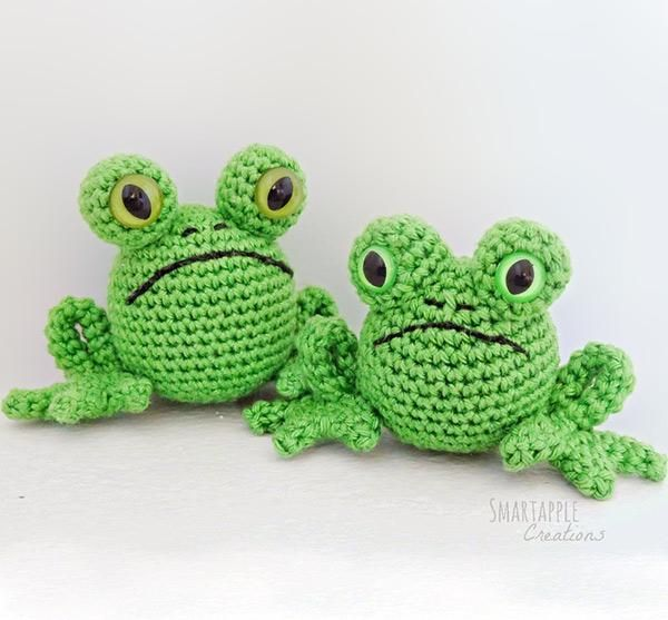 Download this free pattern at Amigurumipatterns.net Fred the frog