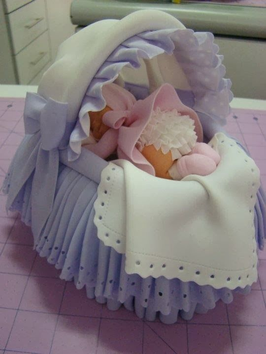 This is a cake.. Adorable baby shower cake
