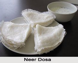 Neer Dosa is a thin, crisp dosa made with a runny rice batter. It is very light and is known to be a Kannada delicacy. For the recipe visit the page. #dosa #indianfood #recipes