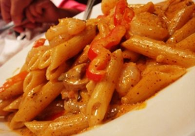 Pasta with Creamy Cajun Sauce