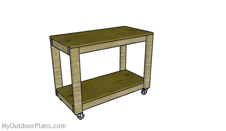 Portable Workbench Plans