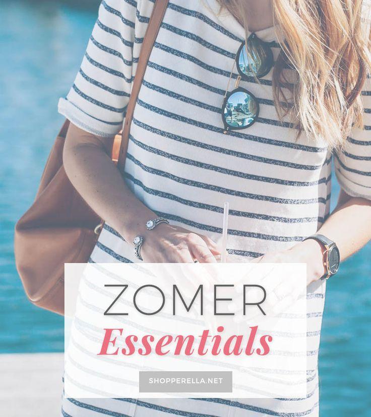 10 Zomer essentials voor in je kledingkast | Tien key pieces voor in je zomergarderobe