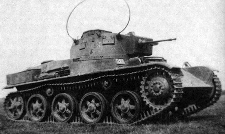 Hungarian 38M Toldi Light Tank