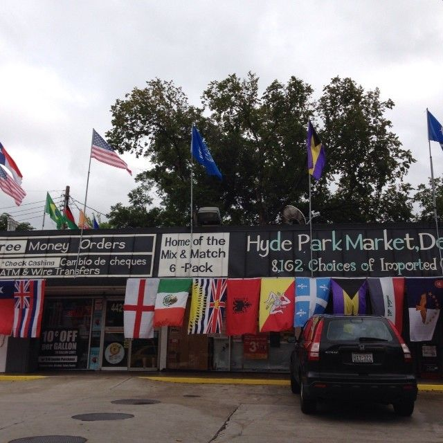 The Flag Store of Hyde Park aka Everything store