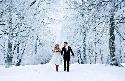 Zimní pohádka, aneb svatba v zimě