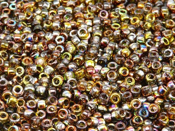 MATUBO Czech Glass Seed Beads 7/0 3.5mm by ScaraBeads