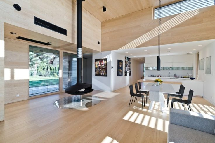 Wonderful Cedar House Located in Poznan, Poland