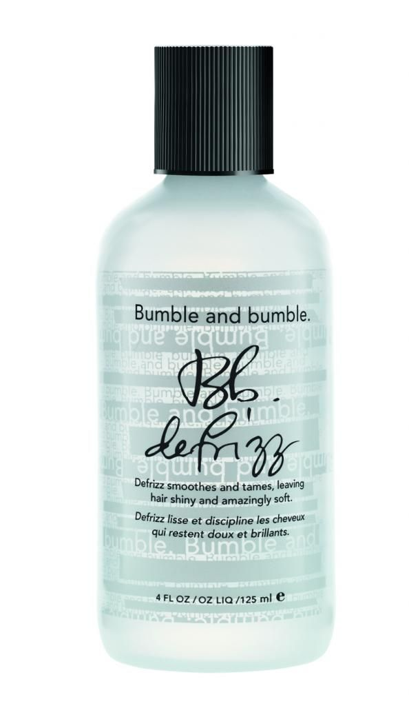 Bumble and bumble defrizz: Our editor Liz won't travel without it in the summer.