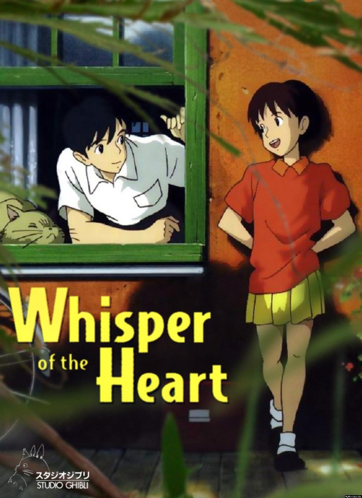 Image result for a whisper of the heart movie poster