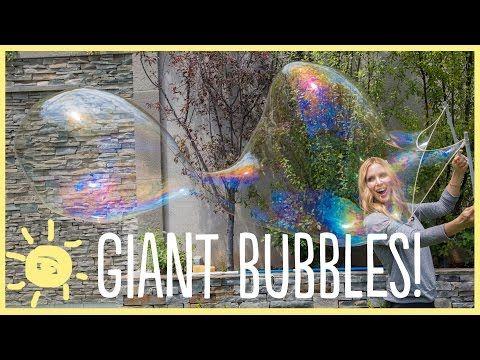 Voici comment faire des bulles géantes! - Bricolages - Trucs et Bricolages