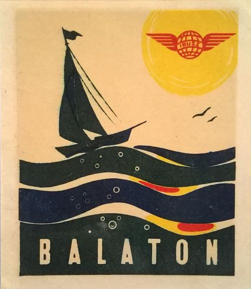 Balaton retro plakat1 poszter hirdetes BALATON.travel
