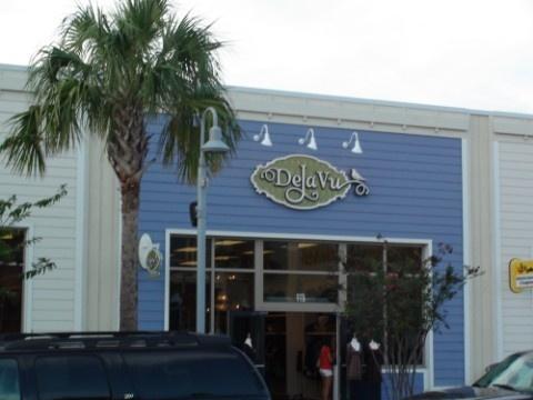 Deja Vu Boutique Seaside FL. The Limited Bag. H&M Scarf. Starbucks Mug