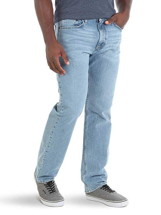 82d73d33c1d Wrangler Authentics Men's Relaxed Fit Jean, Stonewash Light Flex 28x30 at Amazon  Men's Clothing store: