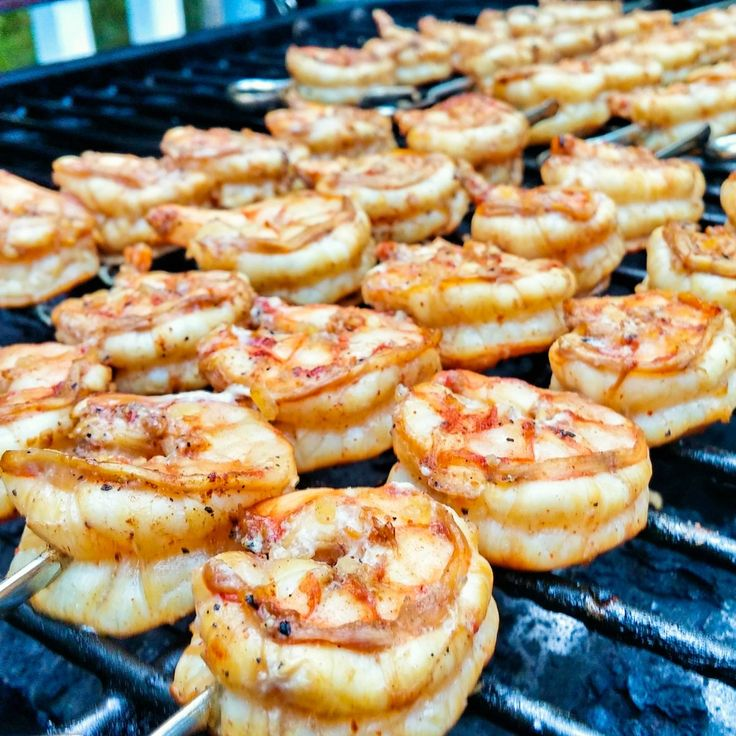 Lemon and Spice Grilled Shrimp. | Marinade for the WIN!