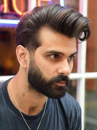 High Quiff Hairstyle for Men