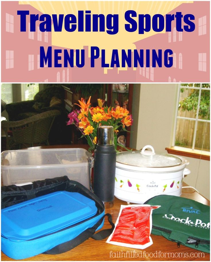If your kids are in sports and you do alot of travel here is how eat and save money along the way! Traveling Sports Menu Planning