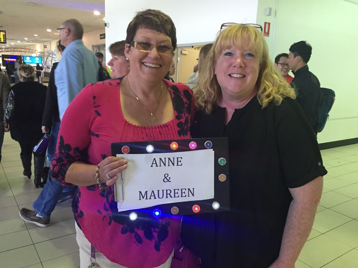 Our Airport signboards were a hit and our special guests did not miss us! #PartyDotsForSmiles