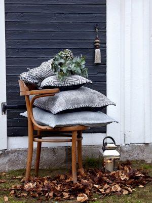 #Affari lanza una nueva linea de #textil con cojines, mantelería, alfombras... con materiales como lino y algodón #estilonordico