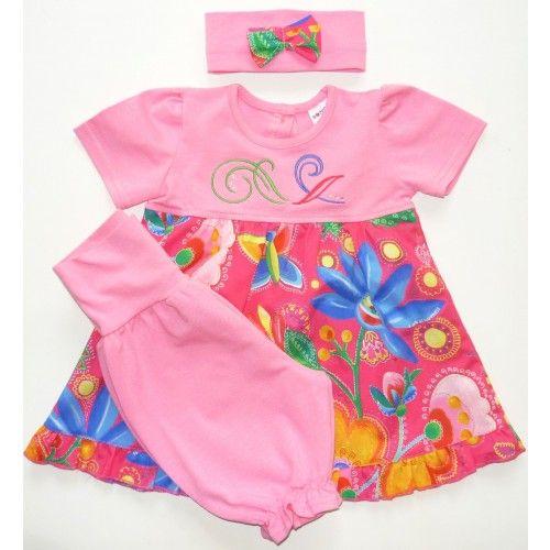 bébi lányka tunika+nadrág