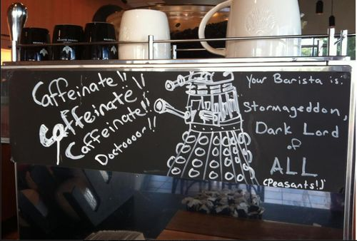 I must find this Starbucks!: Memorial House, Doctorwho, Coff Places, Memorial Shops, Doctors Who, Around The World, Barista, Dr. Who, Fandoms