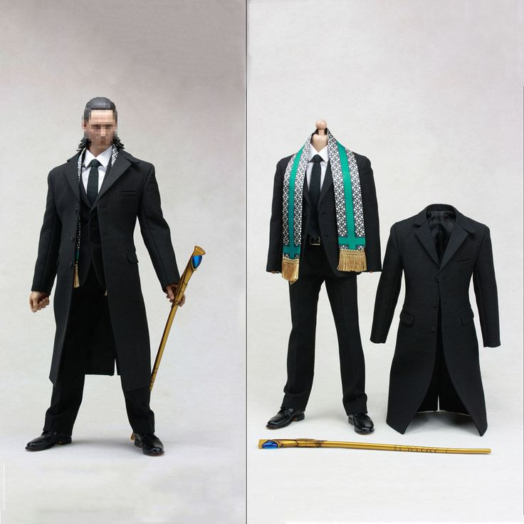 Hot Figure Toy 1 6 Avengers Loki Windbreaker Suit The High Quality | eBay