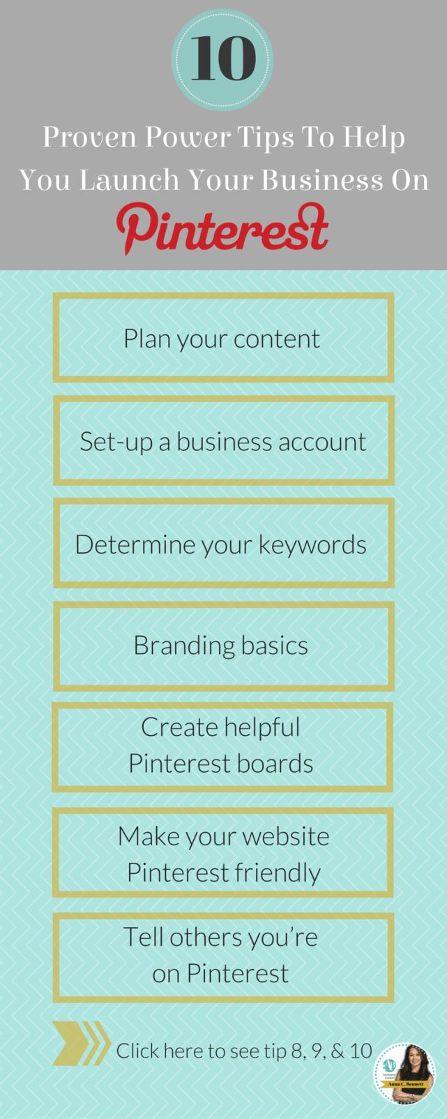 10 proven power tips to help you launch your business on Pinterest. This blog is super helpful for marketing on social media! Very straight forward.