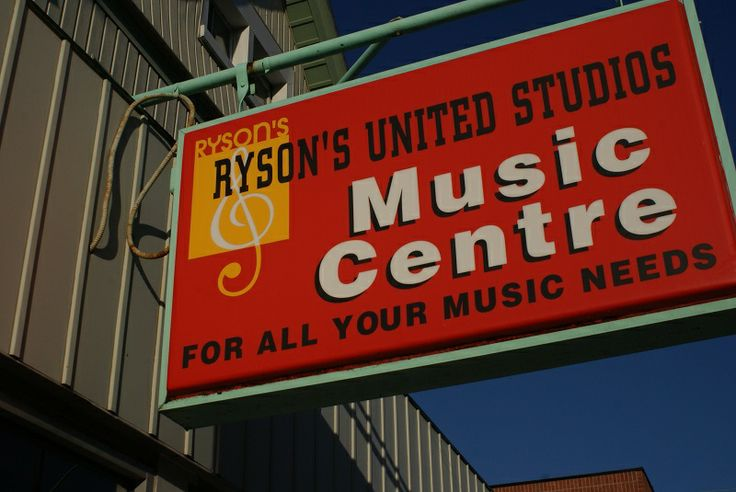Ryson's Music, 5 Court Street, Downtown St. Catharines