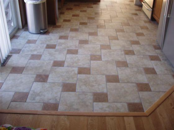 Flawless Kitchen Floor Tile Patterns On Floor With Tile Floor ...