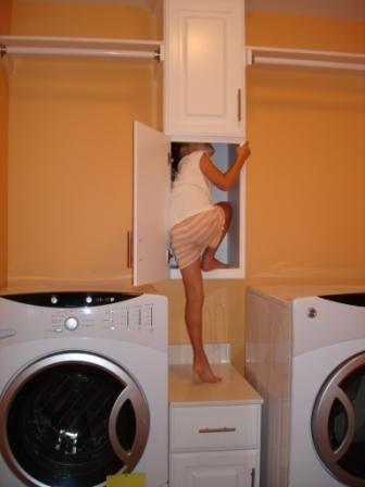Laundry shoot.: Decor, Dreams House, Future House, Laundry Rooms, Closet, Laundry Shoots Ideas, Laundry Chute, Bathroom Laundry Shoots, Clean Laundry
