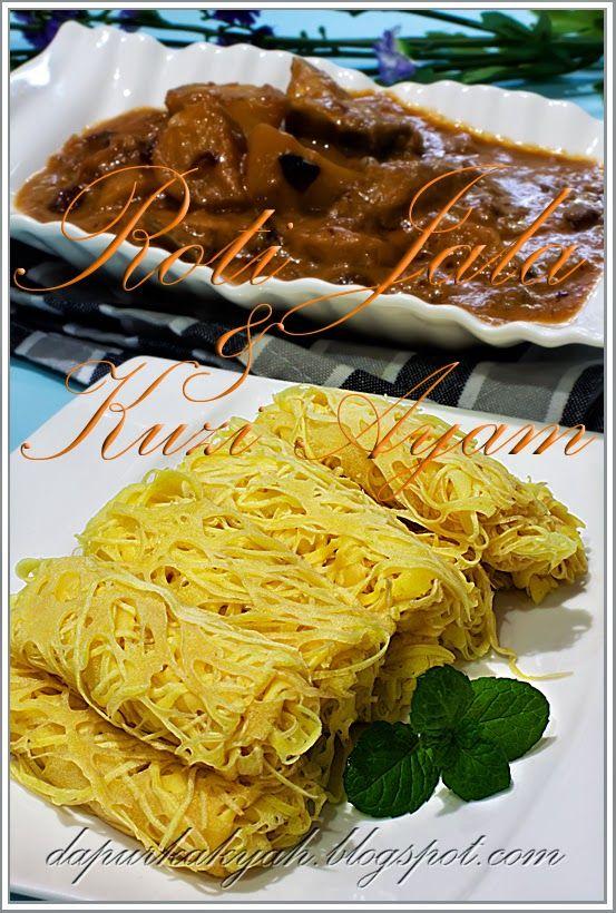Dari Dapur Kak Yah: Roti Jala dan Kuzi Ayam