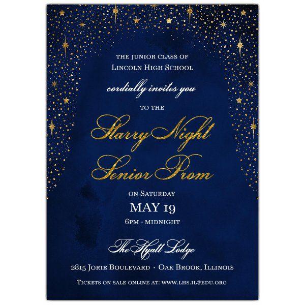 teens prom invitation - 600×600