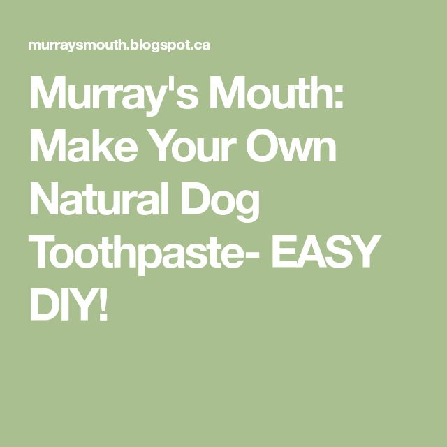 how to make your own toothpaste without coconut oil