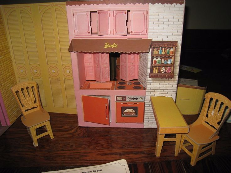 Barbie's New Dream House 1963-64 Cardboard Nearly Complete Furniture Manual RARE FOR SALE • $325.00 • See Photos! Money Back Guarantee. It is amazing that this cardboard toy has lasted through time-Mattel built it to last! It was clearly played with-the folds of the house have weak areas. But let's start 172388663005