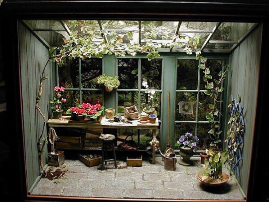 357 Best Images About A 1 12 Scale Miniature Potting Shed