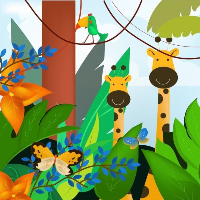 Illustration Tropical Jungle Animal Zoo Clipart Animal Icons Amazon Png And Vector With Transparent Background For Free Download Animal Icon Raccoon Illustration African Big Cats