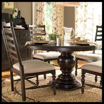 Weathered pedestal dining table with a hexagon shaped base  Product  Dining  tableConstruction Material  WoodColor  TobaccoFeatures  Hexagon shaped  11 best round pedestal table images on Pinterest   Dining room  . Arlington Round Sienna Pedestal Dining Room Table W Chestnut Finish. Home Design Ideas