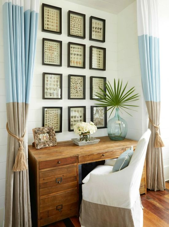 343 best wall decorating ideas images on pinterest for Classy beach decor
