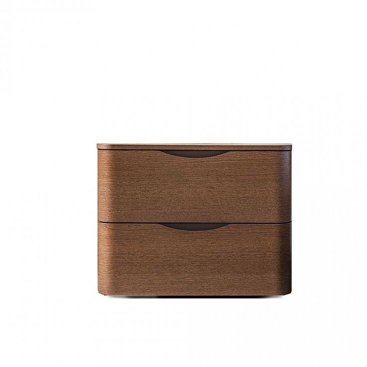 Modern luxury Italian bedside cabinet 'Moby' by Morassutti