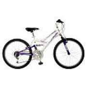 Pacific Cycle Tuscon 24 inch Girls Mountain Bicycle, $122.48, UrbanScooters.com