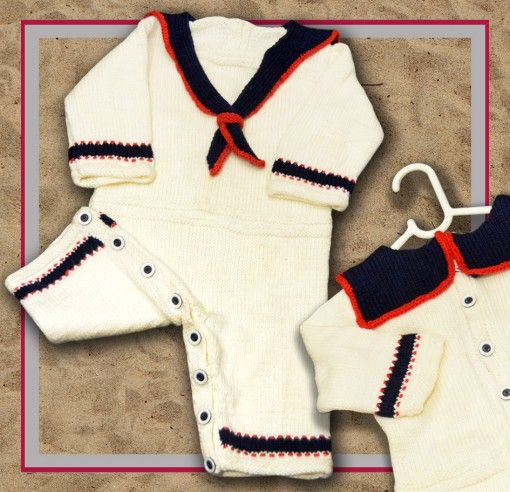 Sailor Onesie Romper for babies 3, 6 & 12 months found at http://www.tbeecosy.com/product/ahoy-sailor-onesie-romper-for-babies-3-12-months/