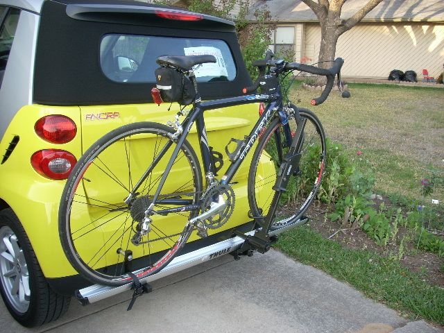 DIY: Bike Rack - Smart Car of America Forums : Smart Car Forum. #smartvilleSweepstakes
