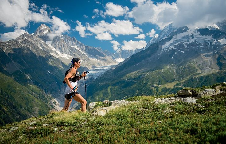 It helped get him to a third-place finish at the 2016 Ultra-Trail du Mont-Blanc.