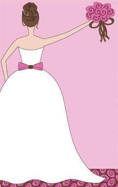 vestido de novia dibujo invitacion - Pesquisa Google