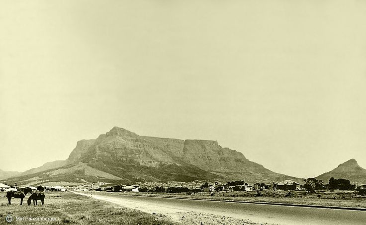 N1 into Cape Town c1956. | On the extreme right is Ysterplaa… | Flickr