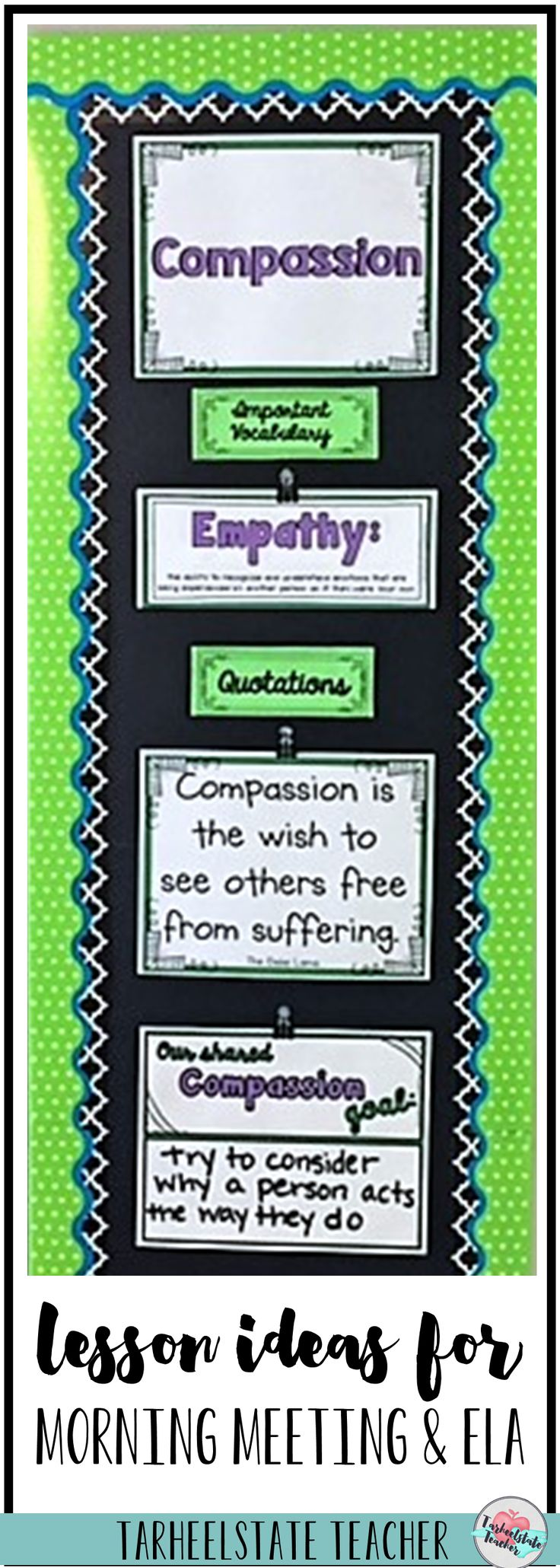 Character Analysis Lesson plan 5th grade