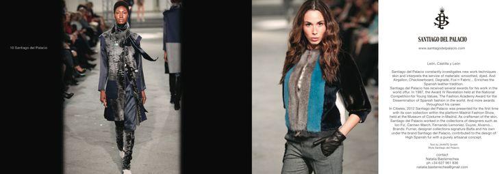 Spanish Fashion designer * SANTIAGO DEL PALACIO  #jaanteshowroom #jaantegmbh #fashionshowroom #fashionevent  #fashionshowcase #designershowcase #santiagodelpalacio #felycampo #spanishfashion #spanishdesigners #jcyl #moda #modaespagnola #peletero #fur #fashionmadeinspain #fashion #castillayleon #promoteyourbrand #b2bfashion #showroominzurich #fashionshopping #swissshowroom #spanischen #Designern #spanischenDesignern #Modemarken  #ModeEvent @santiagodelpalacio @jaanteshowroom