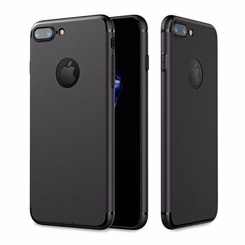 #VINNY ™ #Soft Silicone With #Anti #Dust Plugs Shockproof #Slim Back #CoverCase For #Apple Iphone 5 / 5S - Black