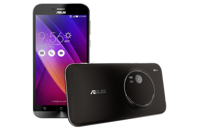 Asus unveils ZenFone Zoom With 3x Optical Zoom 13MP Camera at CES2015